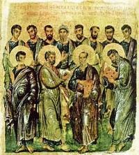 თორმეტი მოციქული - სვეტიცხოვლობა